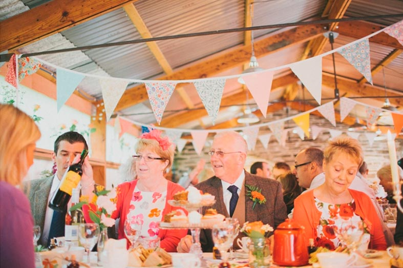 Choose a wedding venue that sources their food from local growers