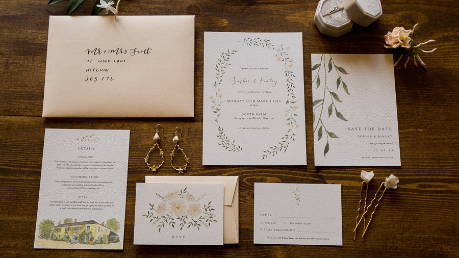 Eco wedding inspiration at South Farm, captured by Em-j Photography
