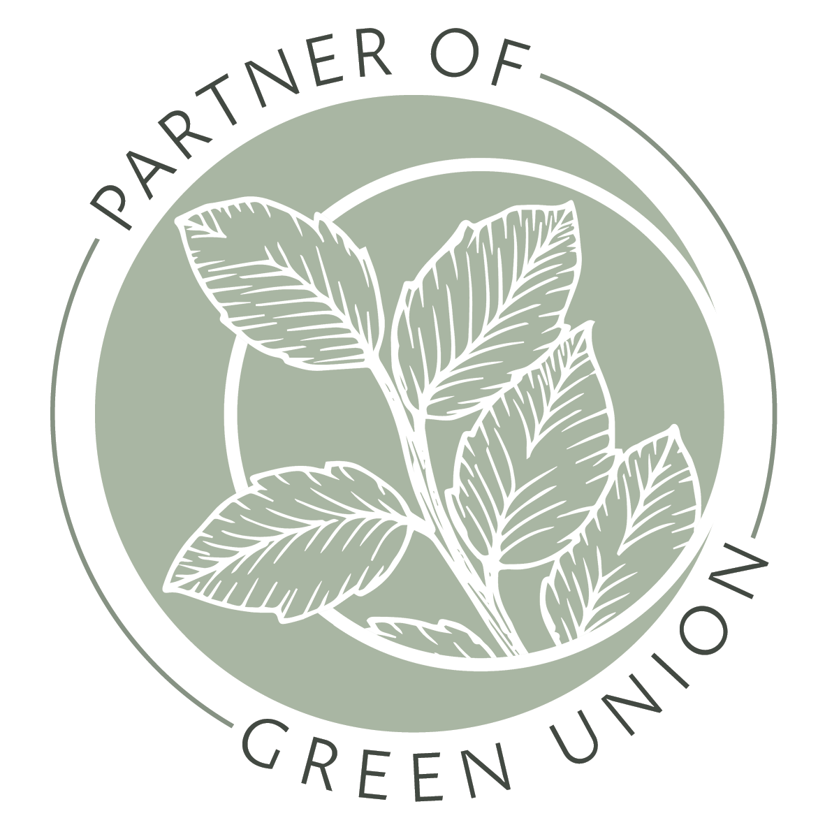 Partner Of Blog Badge for Green Union Eco Friendly Wedding Blog