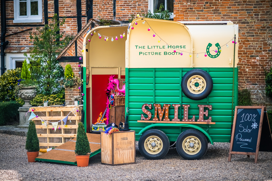 The Little Horse Photo Box, the UKs only solar powered photo booth