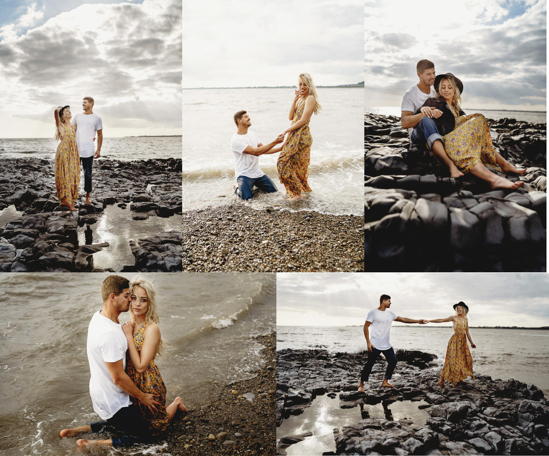 Leesha Williams Photography Eco Engagement at Ogmore Beach