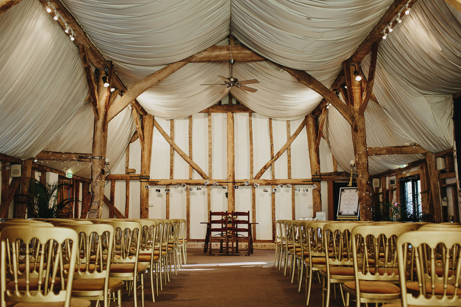 GREEN UNION partner South Farm explains why barns make wonderful wedding venues - image by Luke Hayden