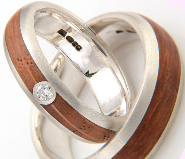 SUPPLIER FOCUS: Handmade and Totally Natural Wooden Wedding and Engagement Rings