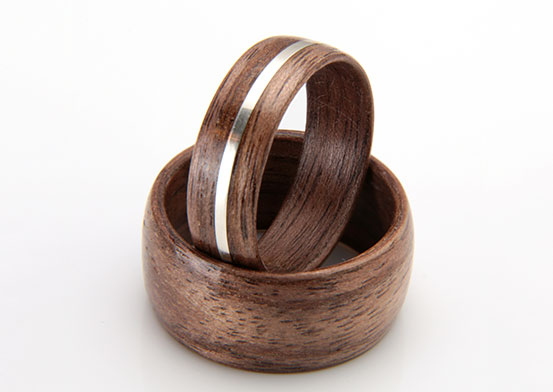 eco wood rings eco friendly wooden wedding amp engagement