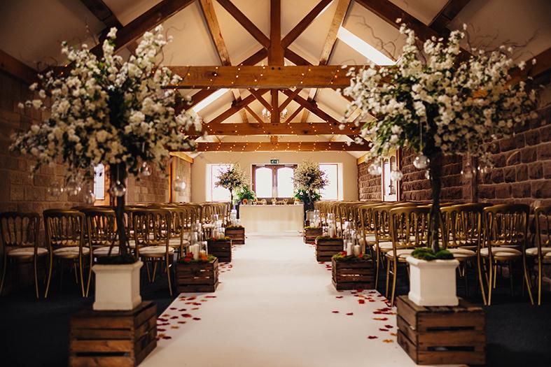 Heaton House Farm Dream Wedding Venue On The Cheshire