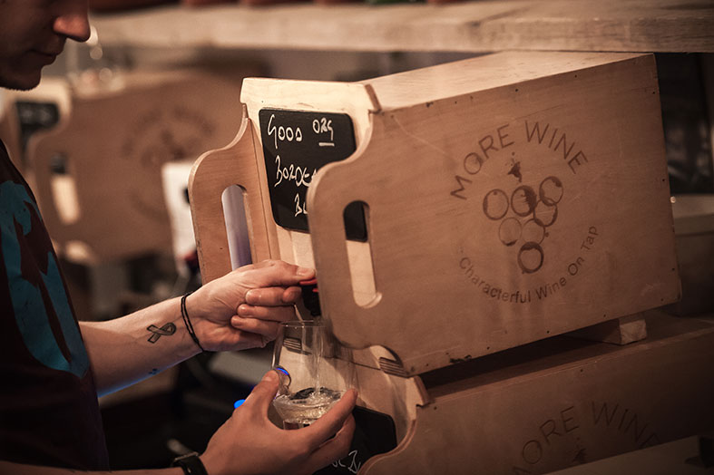 SUPPLIER FOCUS: Natural, Organic, Biodynamic Wedding Wine in a Bag or Box | More Wine