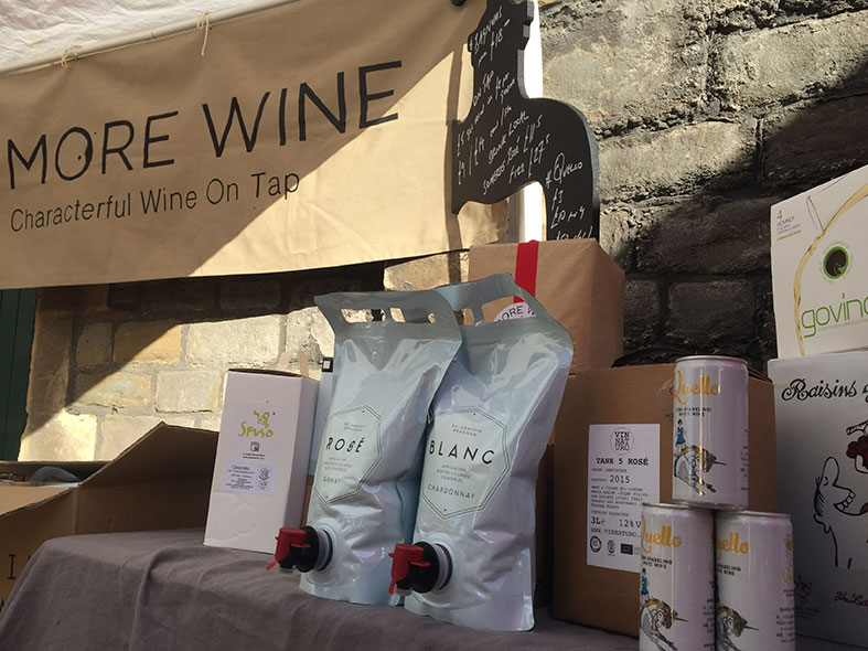 Wine delivered to your door or your wedding venue from More Wine