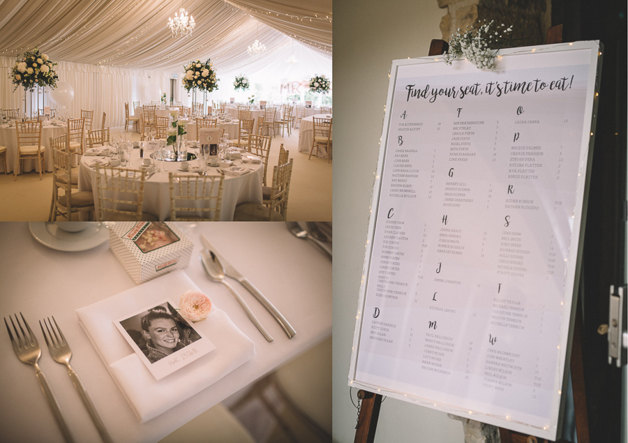 The Wedding Reception From The Glamourous Country Wedding of Holli & Richard at The Priory Barn & Cottages in North Yorkshire, Captured by Lumiere Photographic