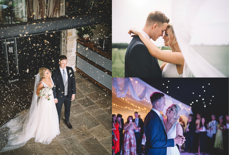 Couple Portraits From The Glamourous Country Wedding of Holli & Richard at The Priory Barn & Cottages in North Yorkshire, Captured by Lumiere Photographic