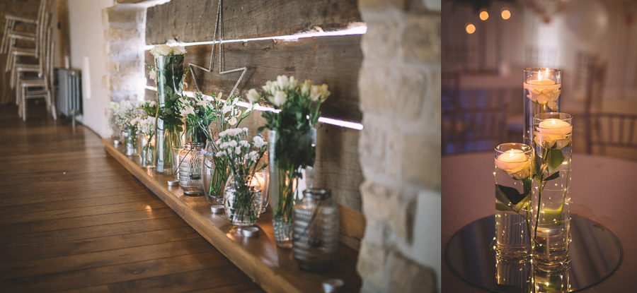 DIY Wedding Details From The Glamourous Country Wedding of Holli & Richard at The Priory Barn & Cottages in North Yorkshire, Captured by Lumiere Photographic