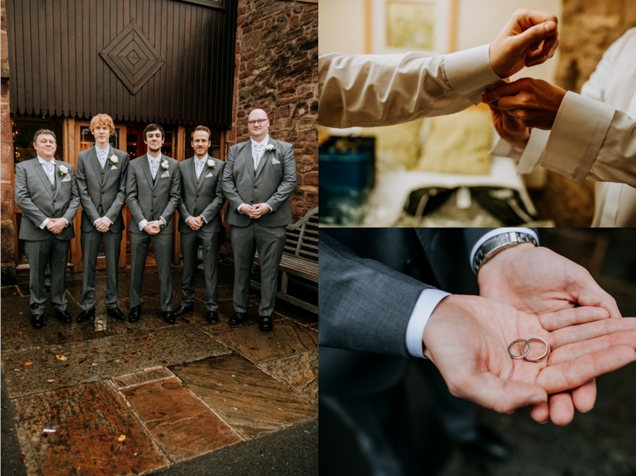 Rustic DIY Wedding at Beeston Manor, Lancashire, Captured by M&G Photographic