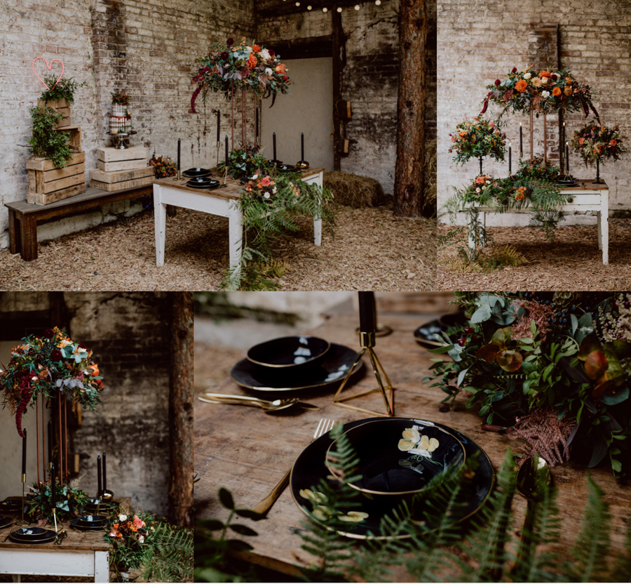 An Autumnal Rustic Luxe Woodland Marriage, Captured by Brigitte & Thierry Photography, with Ceramics by Erica Albrecht