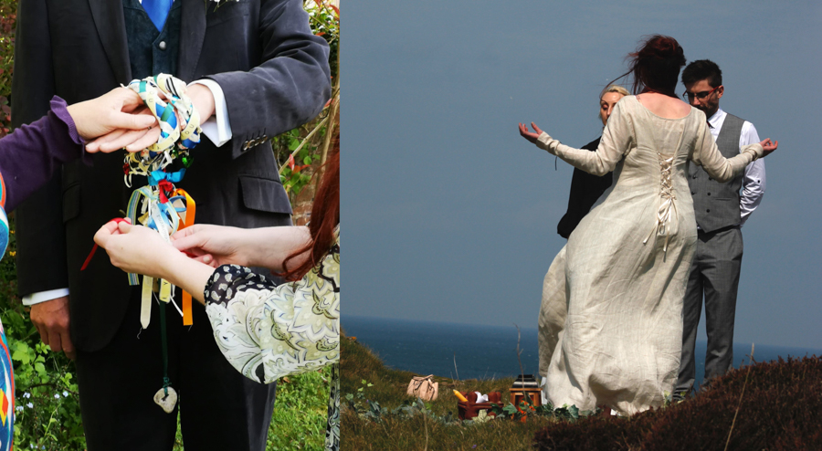 How to Make Your Handfasting Earth-Friendly, by Sacred Celebrant Rebecca of Willow Ceremonies