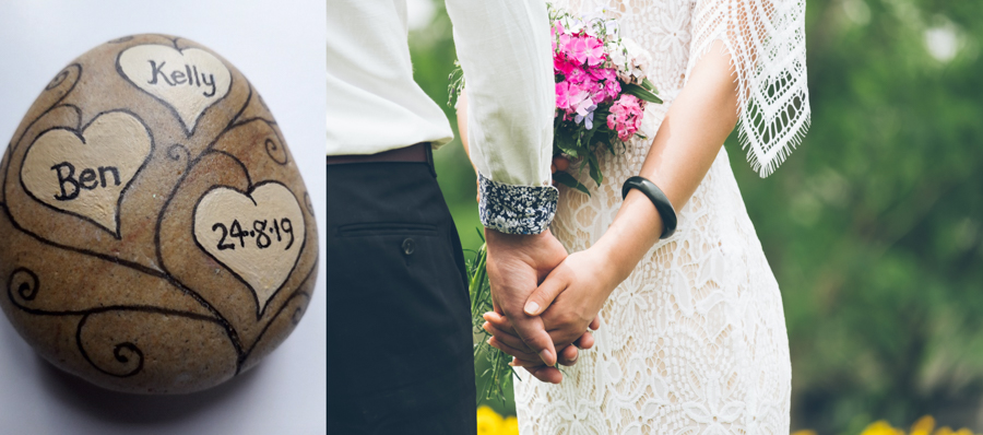Celebrant Kate Explains the Use of an Oathing Stone in Your Wedding Ceremony