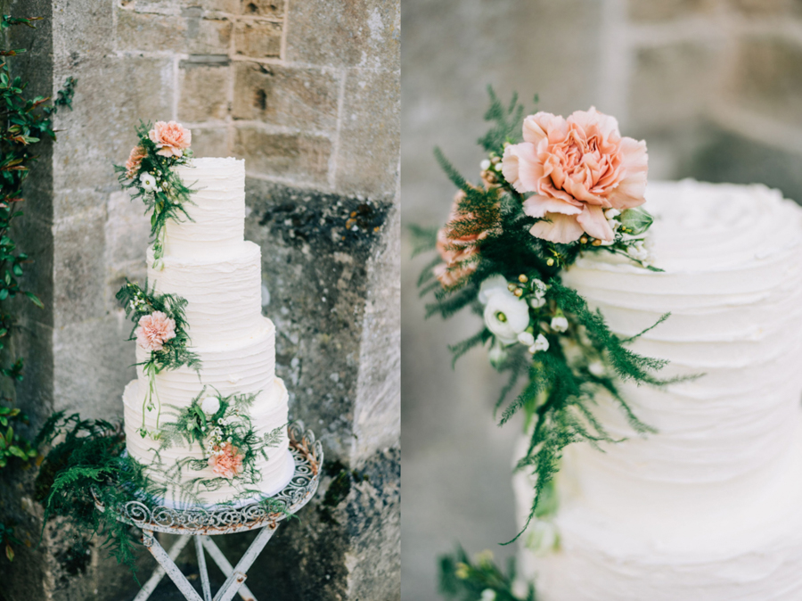 A Peach-Infused Sustainable Bridal Shoot from the Cotswolds, Captured by Rachel Jane Photography