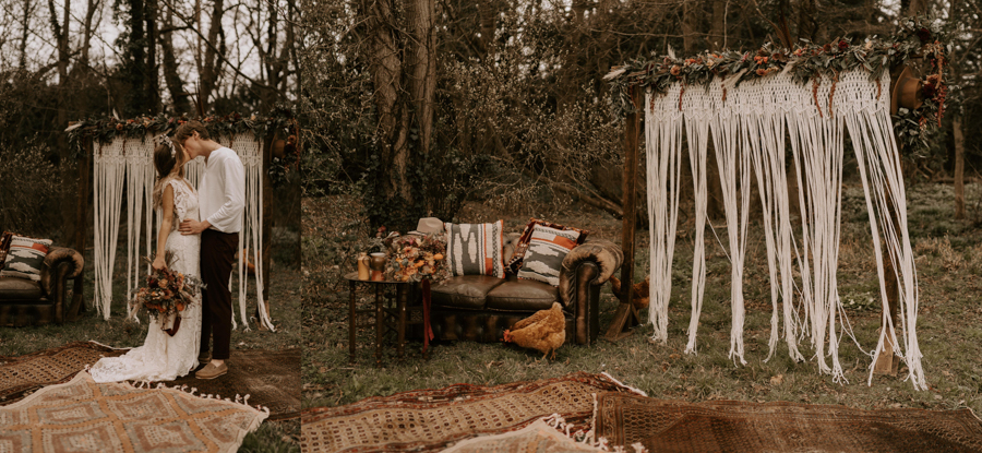 Bell Tents & Boho Dreaming by Wonderland Invites and Pitch Boutique, Captured by Kelsie Low with Rock The Day Styling