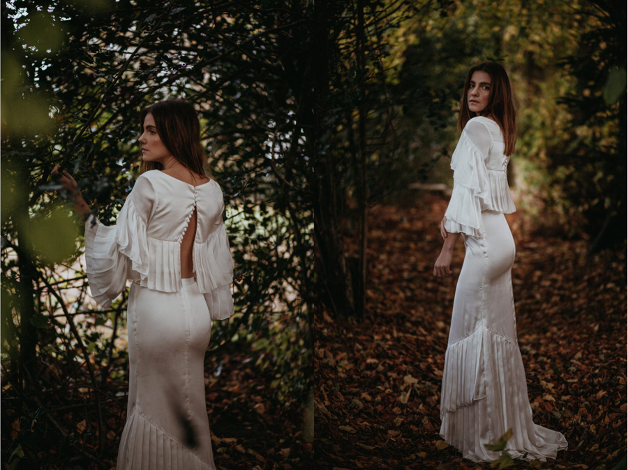 'The Autumn Daydream' is the latest bridal collection by leading eco-designer, Sanyukta Shrestha - Aspen dress