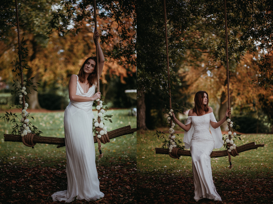 'The Autumn Daydream' is the latest bridal collection by leading eco-designer, Sanyukta Shrestha - Octevia and Orla dresses