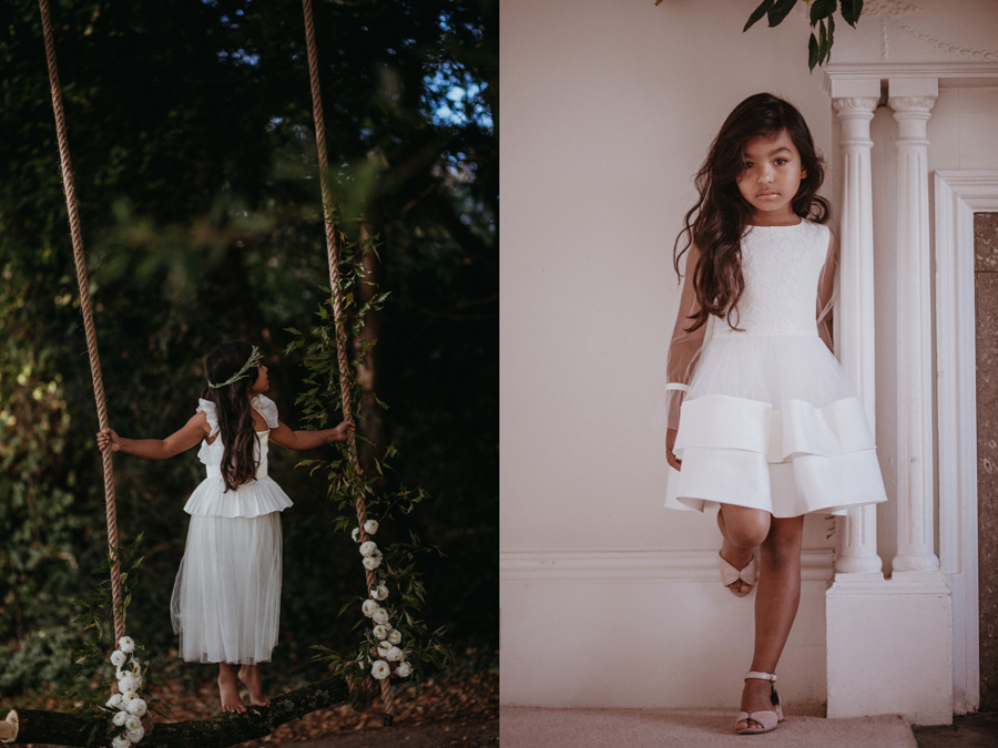 'The Autumn Daydream' is the latest bridal collection by leading eco-designer, Sanyukta Shrestha - Bruna and Persephone dresses