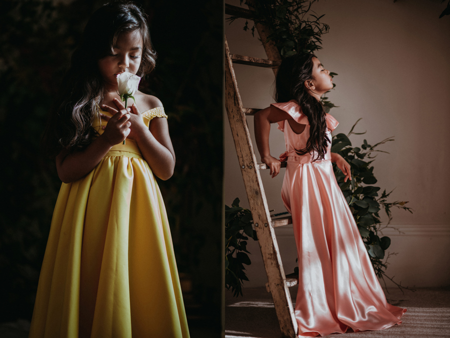 'The Autumn Daydream' is the latest bridal collection by leading eco-designer, Sanyukta Shrestha - Amber and Maple dresses