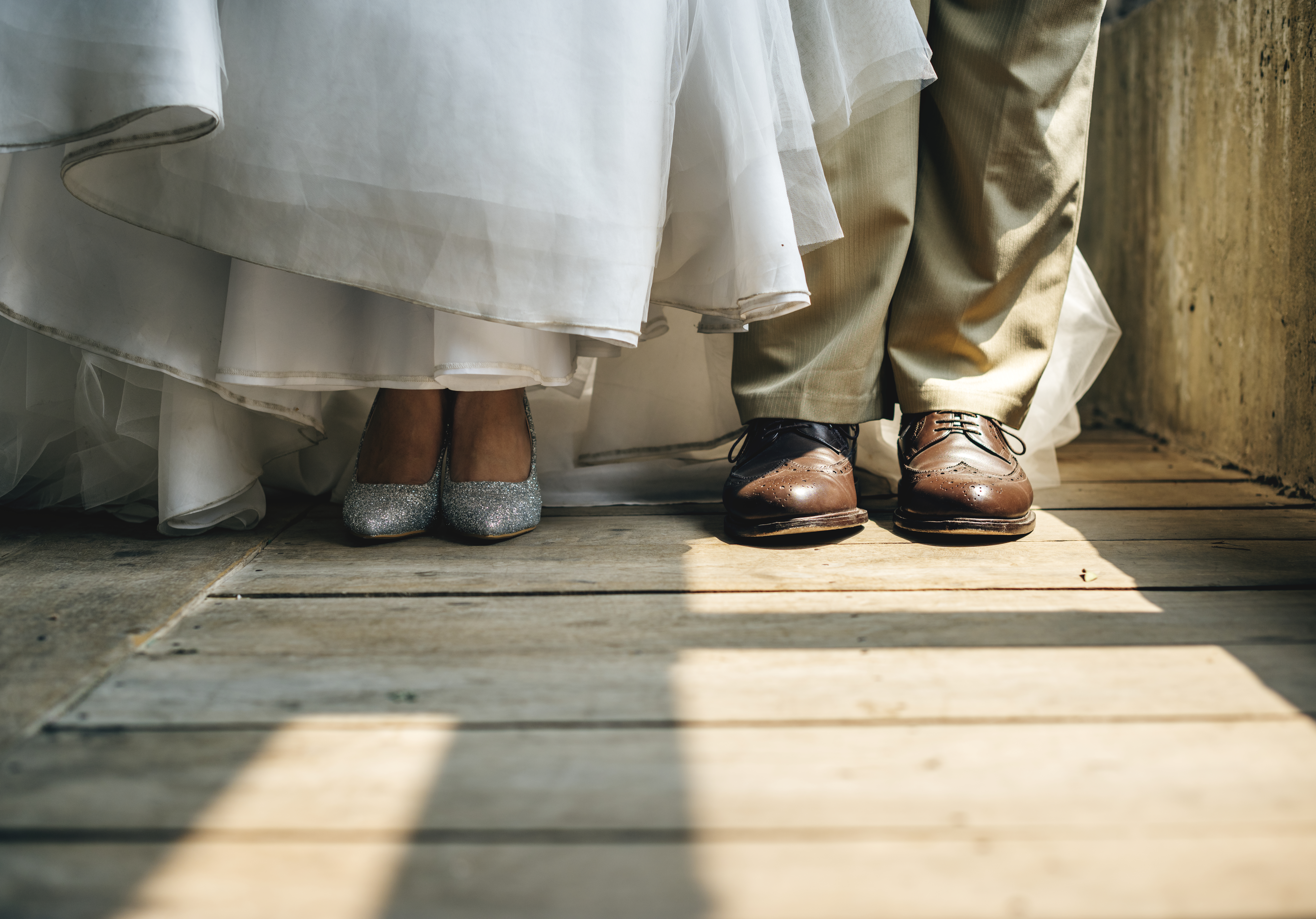 Wedding Shoes for Brides and Grooms