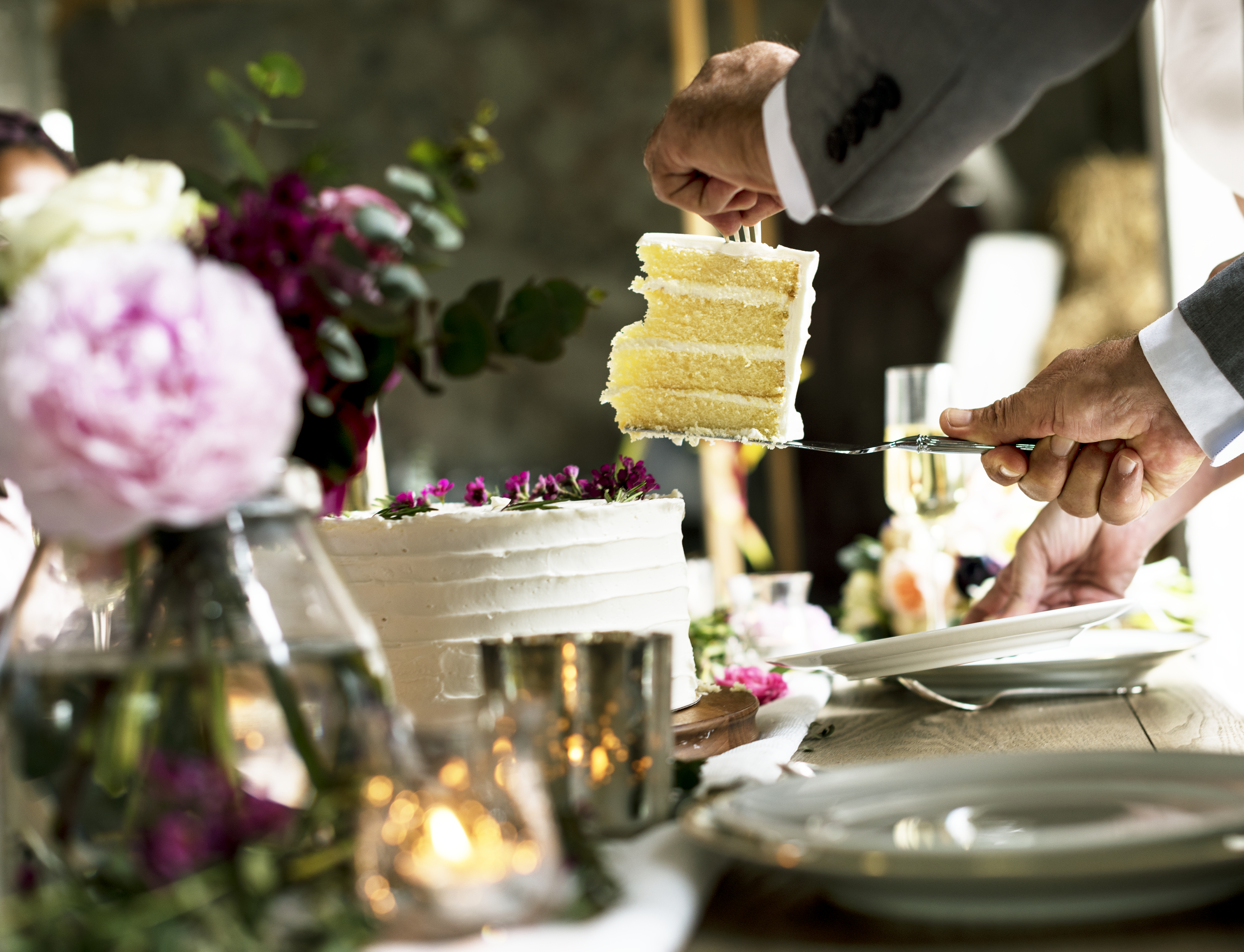 Eco Friendly Wedding Cake and Catering Ideas