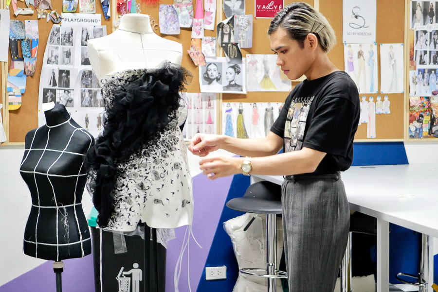 Reducing waste in the Fashion Industry by upcycling, by George Buid