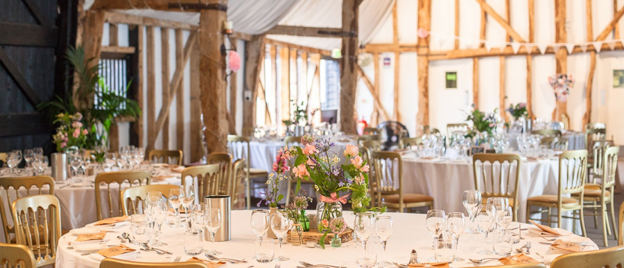 GREEN UNION partner South Farm explains why barns make wonderful wedding venues - image by Cecelina Photography