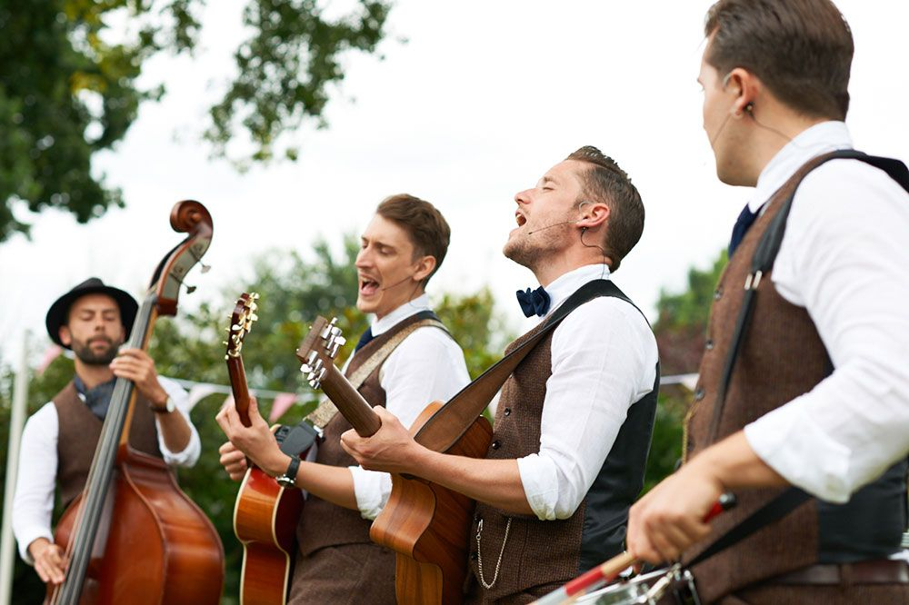 Ceilidh Band from Green Union partner Bands for Hire