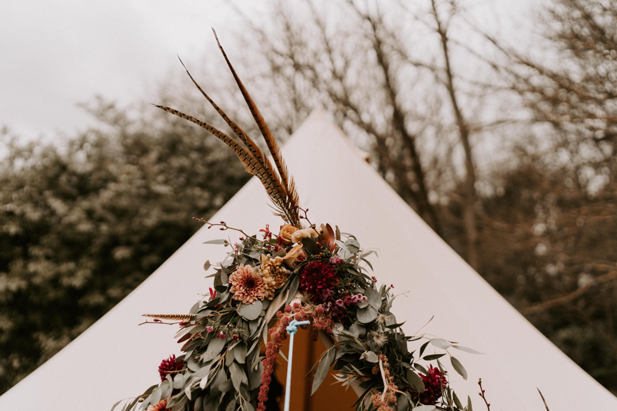 INSPIRATION - Bell Tents & Boho Dreaming by Wonderland Invites and Pitch Boutique, Captured by Kelsie Low with Passion Flowers